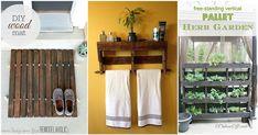 Maneiras de você reaproveitar paletes de madeira na decoração da casa