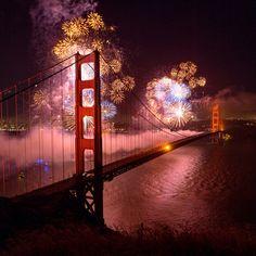 The 75th Anniversary Celebration - Golden Gate Bridge.