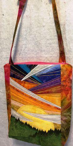 Anita Goodesign landscape purse.