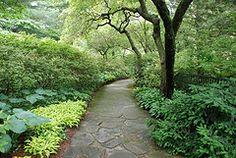 Longwood Garden path
