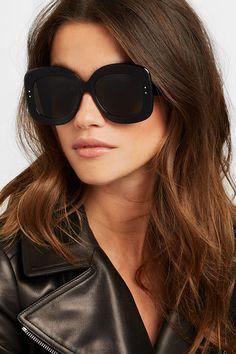 Alaïa | Square-frame acetate sunglasses  | NET-A-PORTER.COM