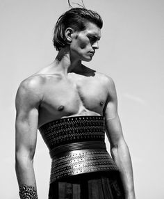 "Australian Model John Todd at Success Models in ""Paramount"" for the Manuscript Magazine Fall 2014 Issue"