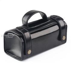 buy online 628ee 66bce Miesten PU-nahka matkustustarvikkeet Bagry Shaving Wash Case Organizer Bag  Black