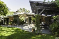 Elegant, tastefully remodeled atrium Eichler in San Rafael.