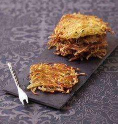 Paillassons lyonnais de pommes de terre - Ôdélices : Recettes de cuisine faciles et originales !
