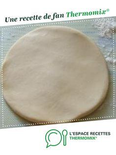 Pâte brisée Thermomix par fany21. Une recette de fan à retrouver dans la catégorie Basiques sur www.espace-recettes.fr, de Thermomix<sup>®</sup>.