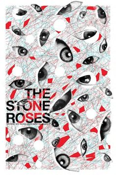 The Stone Roses. Poster design: Ciler (2013).