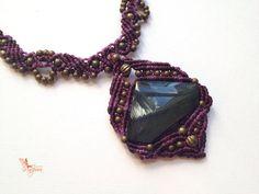 Hippiechic handwoven rainbow obsidian par creationsmariposa sur Etsy