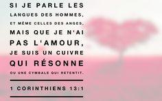 1 Corinthiens 13: 1