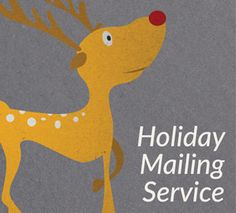 Holiday Mailing Services by Overnight Prints.