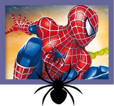 Free #Superhero Printables - Lots of free printables! | Spider-Man ...