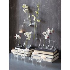 How pretty are these wall mounted vases?
