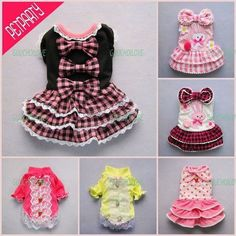 Multi Style Princess for Dog Clothes Pet Dress Shirt Jumpsuit Free Shipping ★ | eBay