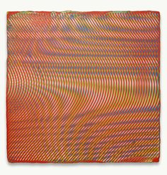 Anoka Faruqee - from Moiré Paintings, 2013 - 2014