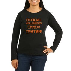 Candy Tester Women's Dark Long Sleeve T-Shirt