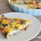 Roasted Vegetable Frittata