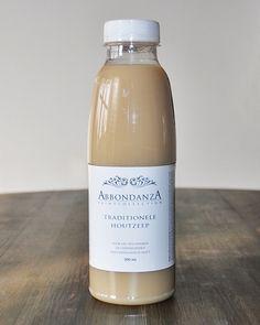 Abbondanza houtzeep, voor een natuurlijke, kleurloze afwerking en bescherming van onbehandeld hout.