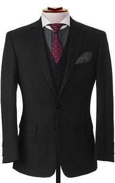 Essential Black Three Piece Suit