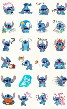 stitch, disney, and wallpaper-bild