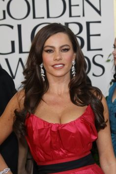 Sofia Vergara Layered Hair