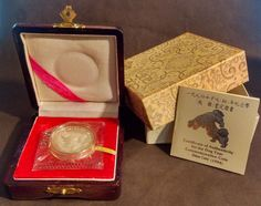 1994 Chinese Year of the Dog Commemorative 1 oz. Dog Years, Proof Coins, Chinese, Dogs, Silver, Pet Dogs, Doggies, Chinese Language, Money
