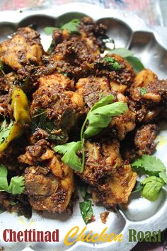 YUMMY TUMMY: Chettinad Chicken Roast Recipe