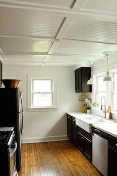 Rehab Diaries: Diy Beadboard Ceilings