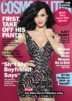 Cosmopolitan Magazine Covers | Katy Perry Cosmopolitan Magazine Cover