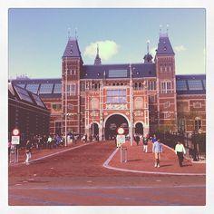 Rijksmuseum στην πόλη Amsterdam