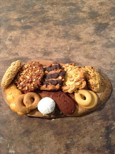 Homemade like..biscotakia from Mykonos Gioras wood bakery !