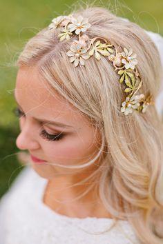 f366142bc3 gold flower crown alta moda bridal Alta Moda Bridal