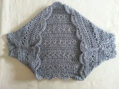 My crochet shrug for springtime! I wanted to choose something that would be light & airy so I went withthe 'v' stitch as the main look for this shrug. The best part about these sh…