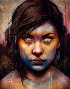 Love the color washes over the detailed graphite! JUST BRILLIANT ( Michael Shapcott )