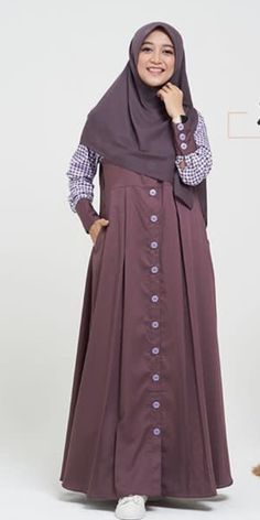 Hijab Fashion, Muslim, Women Wear, How To Wear, Dresses, Style, Nice Dresses, Nice Asses, Gowns