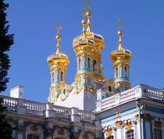Russia - Cathrine the Great palace in St Petersburg Palace, Taj Mahal, Russia, Building, Buildings, Palazzo, Palaces, Architectural Engineering