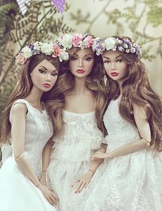Spring Wonderland by Elle & Emma | Models: Endless Summer | Spicy in Spain | Coney Island Saturday | Poppy Parker