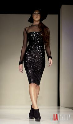 Ermelinda Manos 2012 collection @ The Avalon in Hollywood LAFW 3/12/12