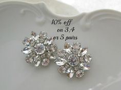 #Wedding #bridesmaids earrings,
