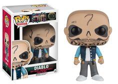 Amazon.com: Funko POP Movies: Suicide Squad Action Figure, El Diablo: Funko Pop! Movies:: Toys & Games