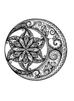 Mandala mandala в 2019 г. mandala tattoo, tattoos и mandala coloring. Mandala Design, Mandala Art, Mandala Arm Tattoo, Moon Mandala, Tatoo Henna, Mandalas Painting, Mandalas Drawing, Zentangle Drawings, Zentangle Patterns
