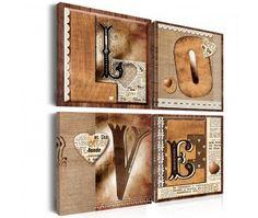 Tableau design Livre de l'amour