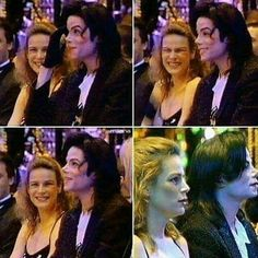 Michael Jackson & Princess Stephanie of Monaco... she does the voice-over in his music video In the Closet; one of my top favorite of Michael's songs by the way lol :)