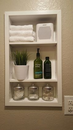 How to replace medicine with open shelves Home