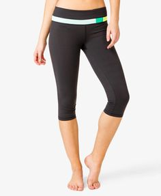 Colorblocked Workout Capris | FOREVER21 - 2018187004