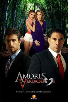 Amores Verdaderos (Mexico 2012) - Erika Buenfil, Eduardo Yáñez, Sebastián Rulli, & Eiza González