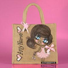 ClaireaBella Kids Medium Jute Bag