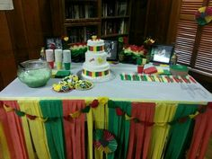 Jamaica 50 Decorations Jamaican Themed Dinner Party