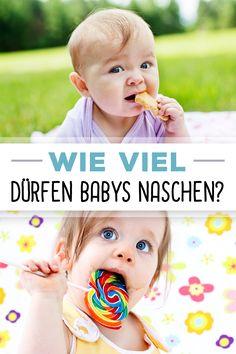 Dürfen Babys naschen? Wir haben die Antwort darauf, wie viel Süßigkeiten erlaubt sind.