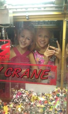 Dance moms Chloe and Paige......