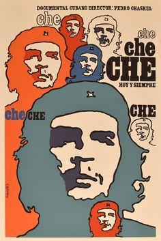 Che Guevara Hoy y Siempre Cuban Poster by Ñiko | ICAIC